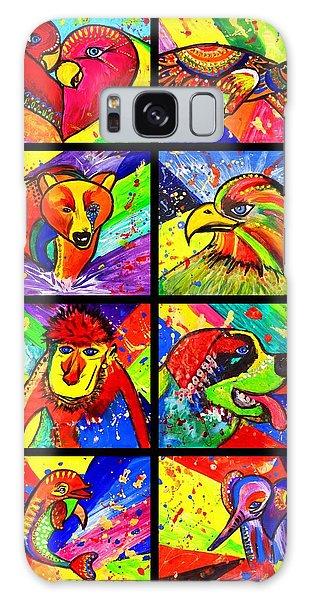 Mix Animal Pop Art Galaxy Case