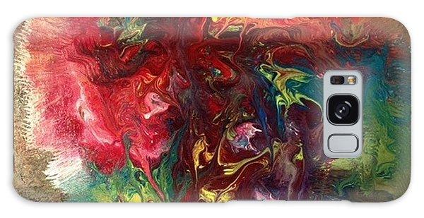 Alfredo Garcia Galaxy Case - Mixed Media Abstract Post Modern Art By Alfredo Garcia Bizarre by Alfredo Garcia
