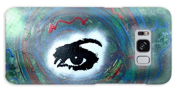 Alfredo Garcia Galaxy Case - Mixed Media Abstract Post Modern Art By Alfredo Garcia Eye See You by Alfredo Garcia