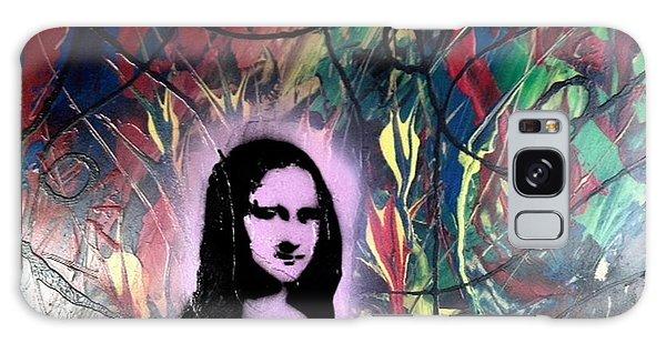 Alfredo Garcia Galaxy Case - Mixed Media Abstract Post Modern Art By Alfredo Garcia Mona Lisa 2 by Alfredo Garcia