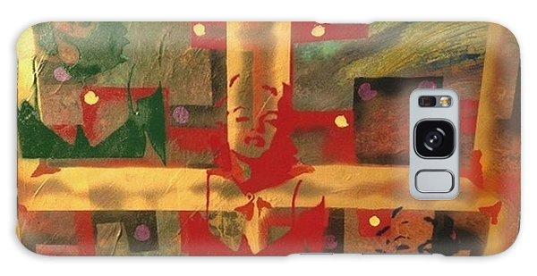Alfredo Garcia Galaxy Case - Mixed Media Abstract Post Modern Art By Alfredo Garcia The Blond Bombshell 3 by Alfredo Garcia