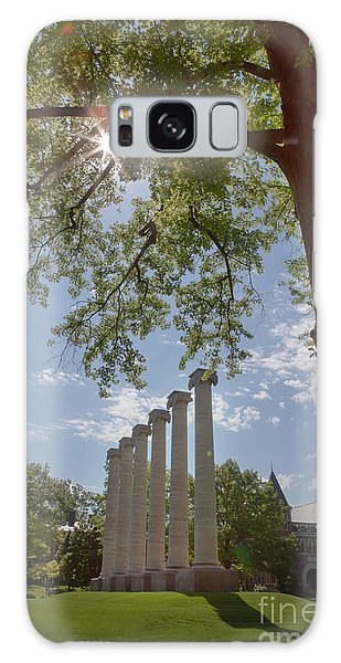 Mizzou Columns Sunflare Galaxy Case by Kay Pickens