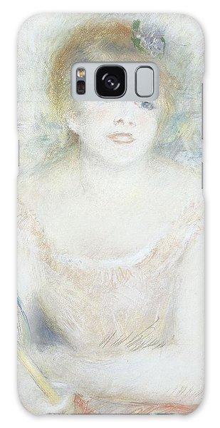 Vivacious Galaxy Case - Mademoiselle Jeanne Samary by Pierre Auguste Renoir