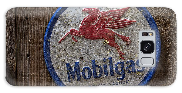 Mobil Gas Sign Galaxy Case