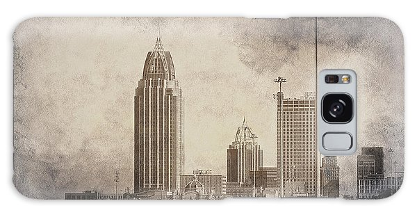 Mobile Alabama Black And White Galaxy Case