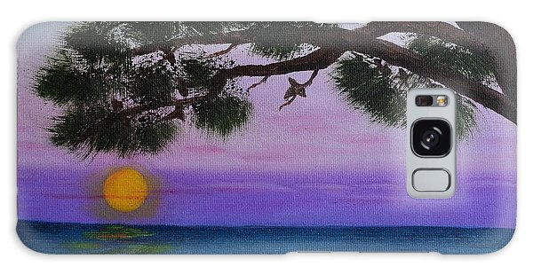 Mobile Bay Sunset Galaxy Case