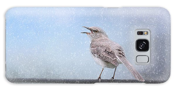 Mockingbird In The Snow Galaxy Case