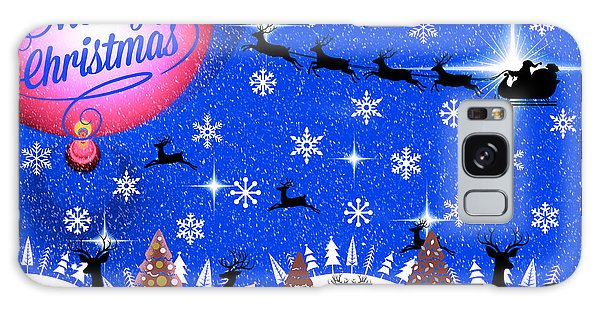 Mod Cards - Reindeer Games - Merry Christmas IIi Galaxy Case