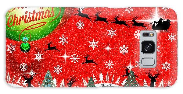 Mod Cards - Reindeer Games - Merry Christmas Galaxy Case