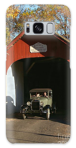 Model A Ford At Knecht's Bridge Galaxy Case