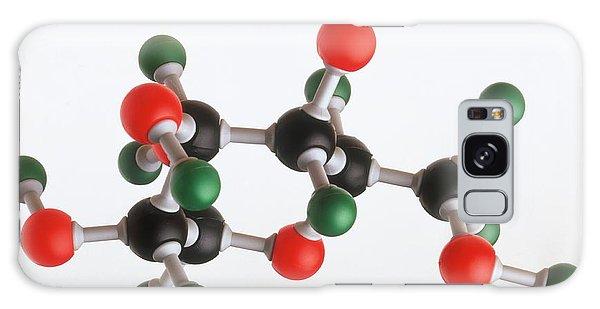 Molecular Biology Galaxy Case - Model Of A Glucose Molecule by Dorling Kindersley/uig