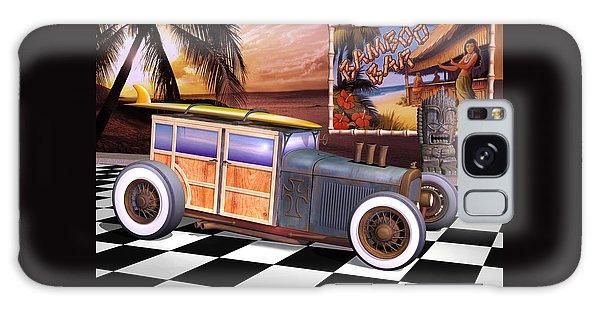 Model T Surf Woody Galaxy Case
