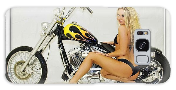 Models And Motorcycles_l Galaxy Case