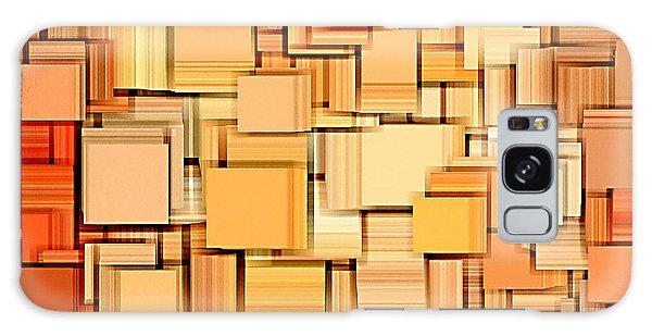 Modern Abstract Xvi Galaxy Case by Lourry Legarde