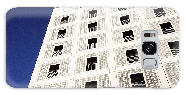 Modern Architecture City Library Stuttgart Galaxy Case by Matthias Hauser