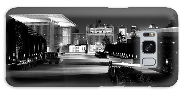 Modern Architecture Night Black White Galaxy Case