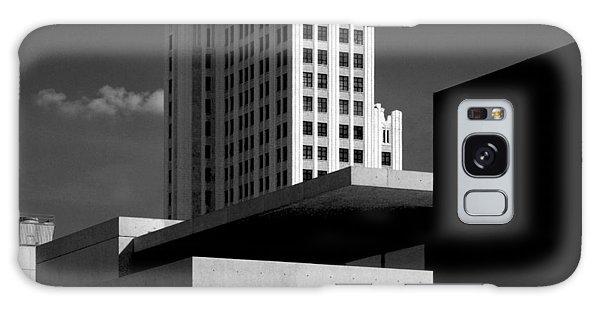 Modern Art Deco Architecture Black White Galaxy Case