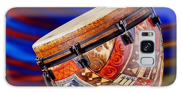 Modern Djembe African Drum Photograph In Color 3336.02 Galaxy Case