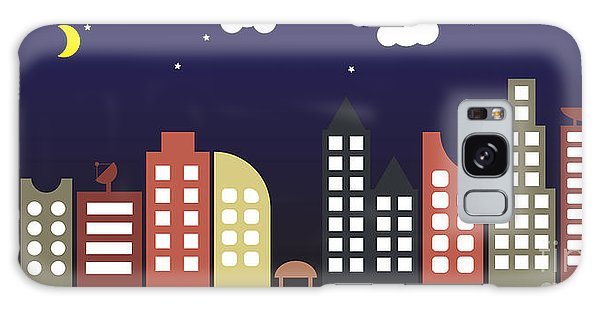 Environments Galaxy Case - Modern Urban Building Landscape Vector by Bwart