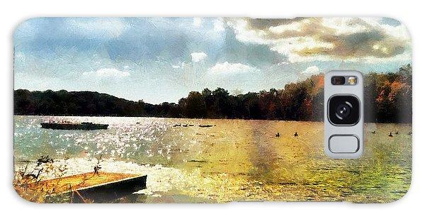 Mohegan Lake Gold Galaxy Case