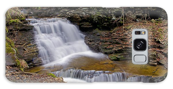 Mohican Falls In Spring Galaxy Case