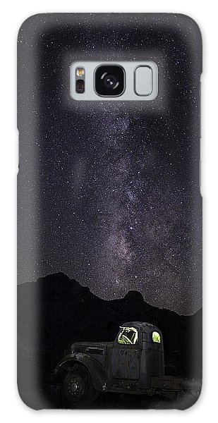 Galaxy Case featuring the photograph Mojave Milky Way by James Sage