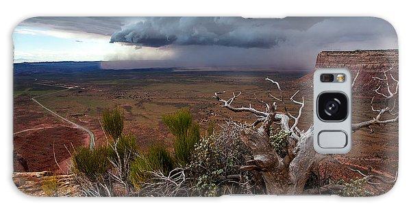 Moki Dugway Thunderstorm - Southern Utah Galaxy Case