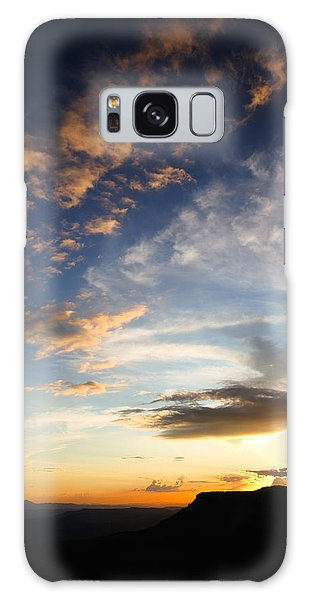 Galaxy Case featuring the photograph Mollogon Rim Twilight by Brad Brizek