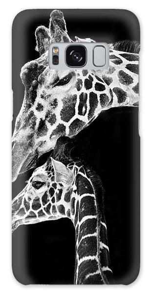 Mom And Baby Giraffe  Galaxy S8 Case