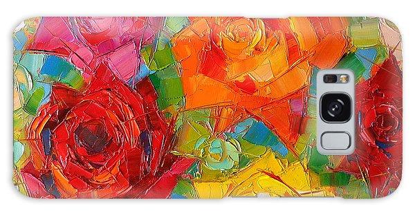 Rose Galaxy Case - Mon Amour La Rose by Mona Edulesco
