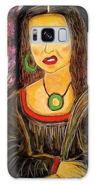 Mona Diva Galaxy Case by Chrissy  Pena