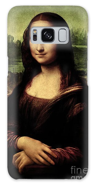 Mona Lisa Painting Galaxy Case