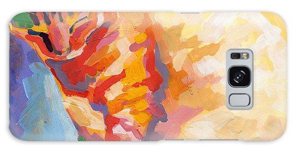 Tabby Galaxy Case - Mona Lisa's Rainbow by Kimberly Santini