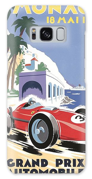 Monaco Grand Prix 1958 Galaxy Case