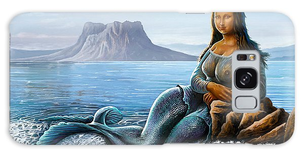 Monalisa Mermaid Galaxy Case by Anthony Mwangi