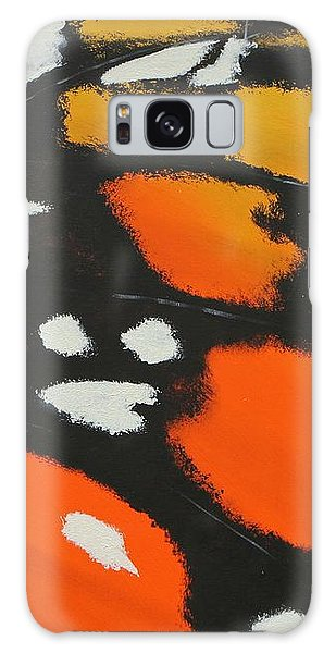 Galaxy Case featuring the painting Monarch by Aliya Michelle