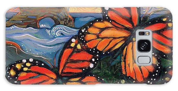 Monarch Galaxy Case - Monarch Butterflies At Natural Bridges by Jen Norton