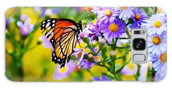 Monarch Butterfly 4 Galaxy Case