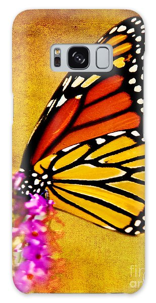 Monarch Butterfly Color Splash Sunset Galaxy Case