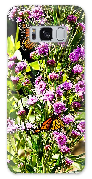 Monarch Butterfly Couple Galaxy Case