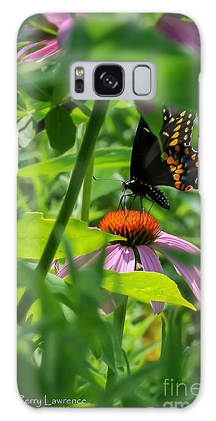 Monarch Butterfly Deep In The Jungle Galaxy Case