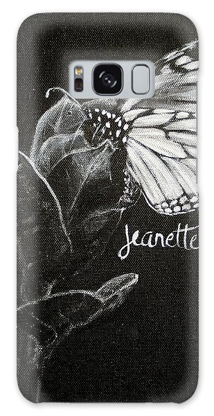Monarch Butterfly On Milkweed Galaxy Case