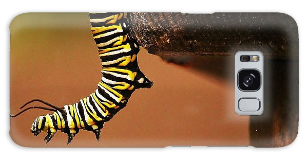 Monarch Caterpiller Galaxy Case by Al Fritz