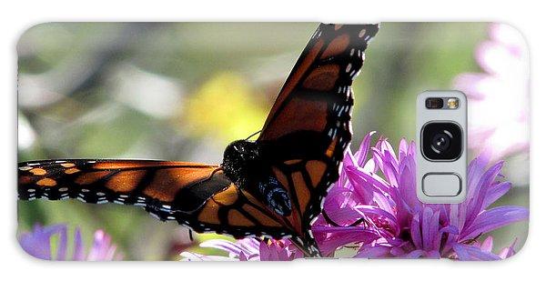 Monarch Meditation Galaxy Case