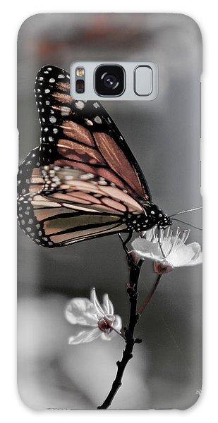 Monarch On Blossom Galaxy Case