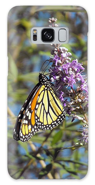 Monarch On Vitex Galaxy Case by Jayne Wilson