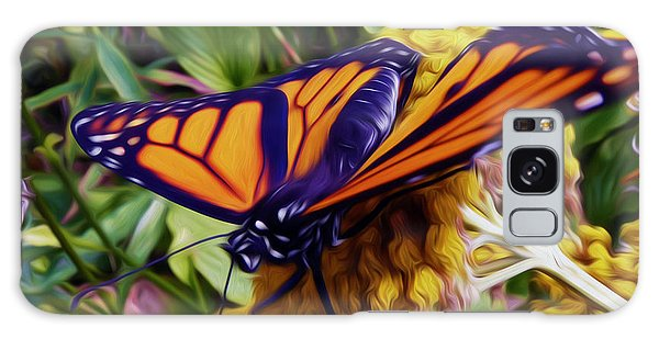 Monarch On Yarrow Galaxy Case