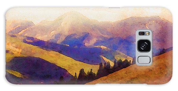 Monarch Pass Colorado Galaxy Case