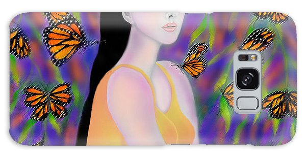 Monarchs Galaxy Case by Latha Gokuldas Panicker