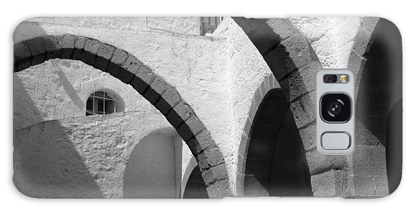 Monastery Arches Galaxy Case by Larry Bohlin